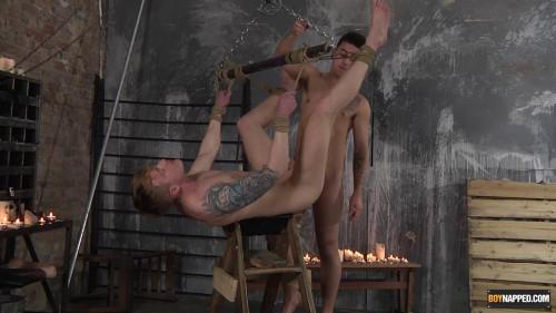 Gay BDSM Used By A Hung Jock Stud!