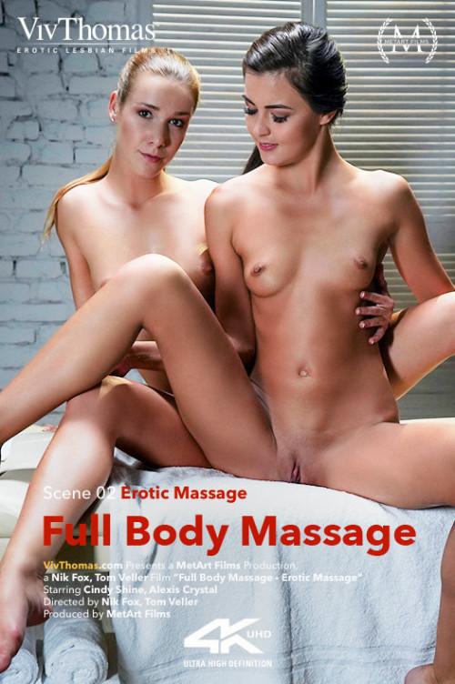 Alexis Crystal, Cindy Shine - Full Body Massage Episode 2 - Erotic Massage 1080p