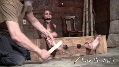 BDSM Bondage, spanking, strappado and torture for horny model part 2 Full HD1080