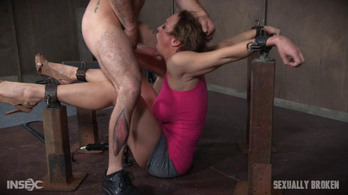 bdsm SexuallyBroken - Aug 10, 2016 - Dee Williams Shows Off Amazing Cock Sucking Skills in Bondage