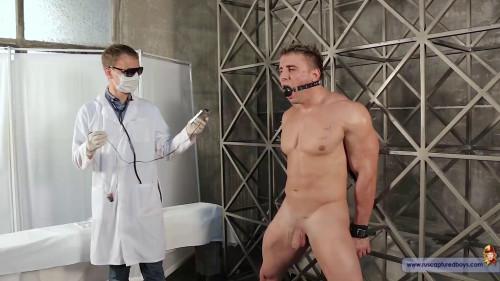 Gay BDSM Medical Experiment with Slave Denis