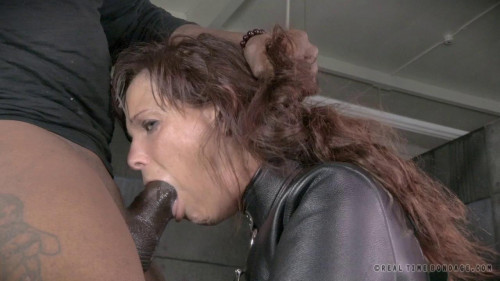 bdsm Brutal MILF DP on BBC as Syren De Mer is straight jacket fucked to utter sexual destruction