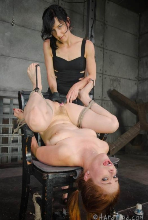 BDSM Elise Graves Puts Penny Pax Through Intense Foot Torment