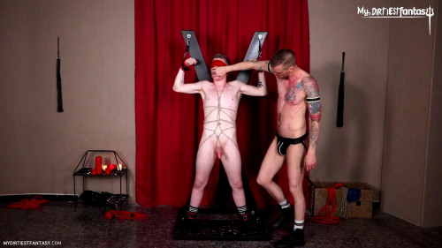 Gay BDSM The Beginner Dominated Hard