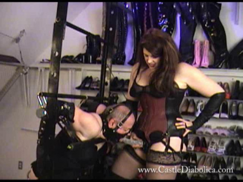 Femdom and Strapon Magic Vip Collection CastleDiabolica. 39 Clips. Part 4.