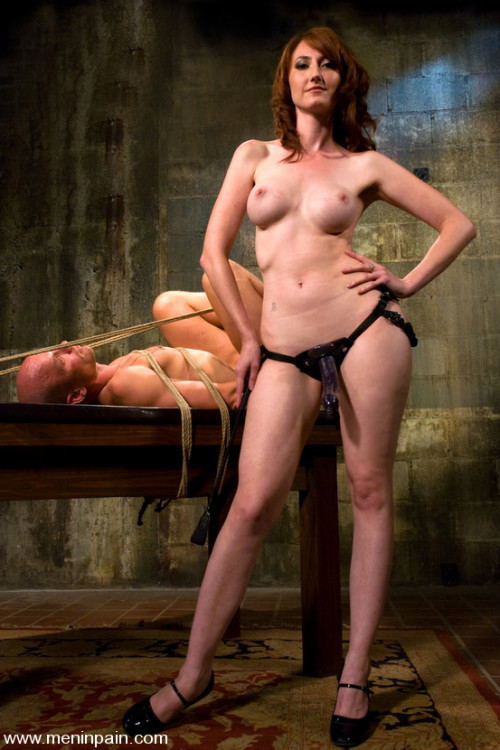Femdom and Strapon Entertainment for a Mistress