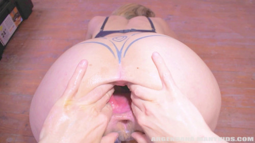 Fisting and Dildo ArgenDana - Taintacle deep fisting and gape tunnel
