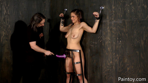 BDSM Kiki Comes Back For More Paintoy Fun