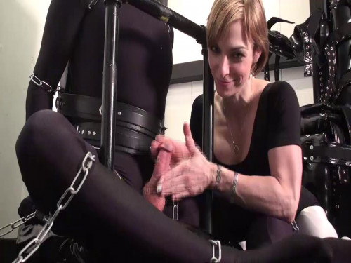 Femdom and Strapon Slaves Flasher - Domination HD
