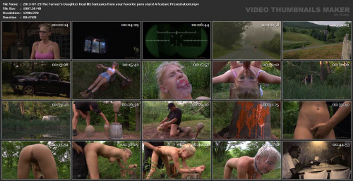 bdsm The Farmers Slut Real life fantasies from your favorite porn stars