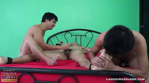 Gay BDSM Argies Tickle Handjob