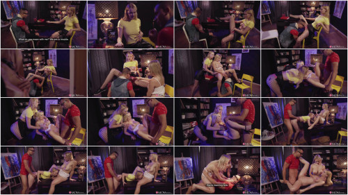 Threesome Ariela Donovan, Lily Joy - Shy student enjoys double trouble 1080p
