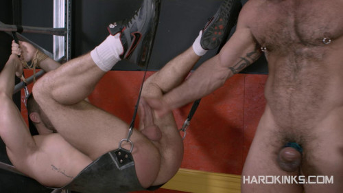 Gay BDSM HardKinks - Bondage Beast - Isaac Eliad and Rogan Richards