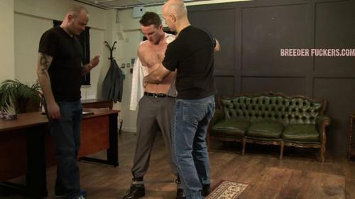 Gay BDSM Shamus - Arms and legs bound