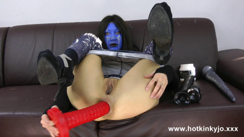 Fisting and Dildo Extreme deep anal insertions