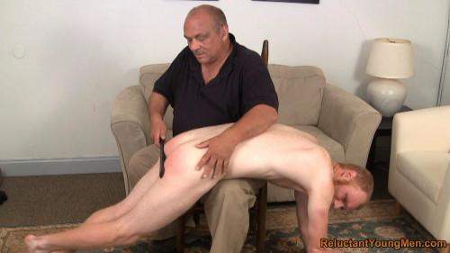 Gay BDSM Sean Spanked