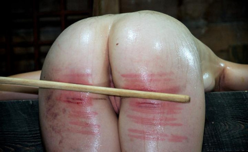 bdsm The Mark of the Cane on a beautiful ass