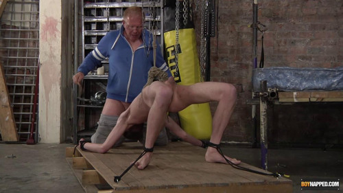 Gay BDSM Using The Twink Cock Sucker!