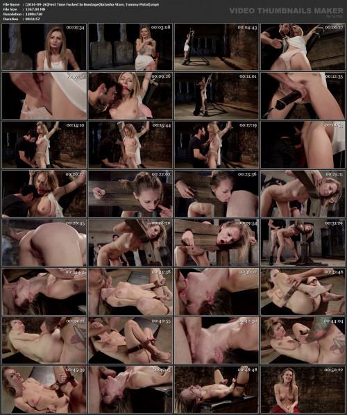 bdsm First Time Fucked In Bondage (Natasha Starr, Tommy Pistol)