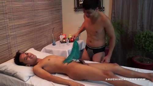 Gay BDSM Gilberts Erotic Tickling Massage