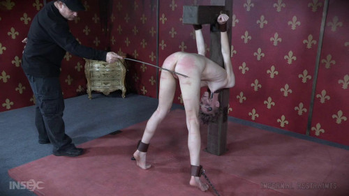 BDSM Curious Slave Billy Nyx Punished Hard