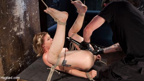 BDSM Maximum Capacity in Extreme Predicament Bondage