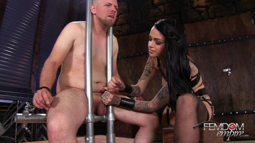 Femdom and Strapon Ruined to Please