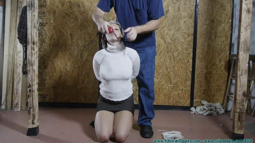 BDSM Courtney Begs For Bondage, Gags, and Punishment - Part 1