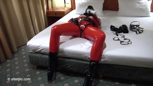 BDSM Latex Alterpic - New Years orgasm