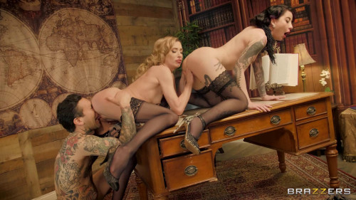 Aiden Ashley & Charlotte Sartre - All Hands On Small Hands