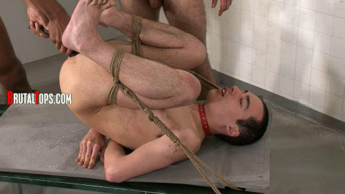 Gay BDSM Bowel Full Of Piss