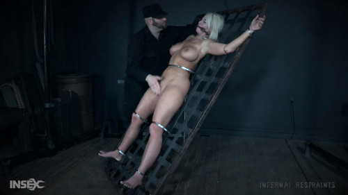 BDSM He wraps her in leather so tight