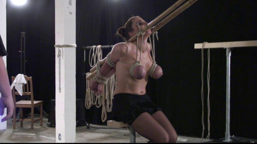BDSM Toaxxx - tx122 Xtreme Breast Bondage for Bettine - pt 2