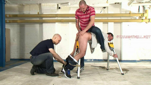 Gay BDSM Fraser - Stripped and subdued