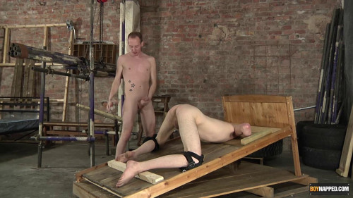 Gay BDSM A Punnishing Butt Fucking For Casey