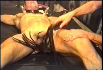 Gay BDSM Marine Bondage