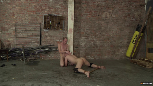 Gay BDSM Legs Spread Waiting For Cock