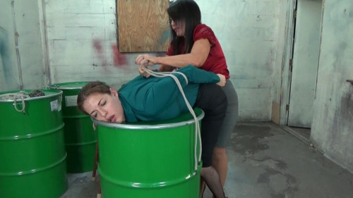 BDSM Bitchy Boss Barrel Bound