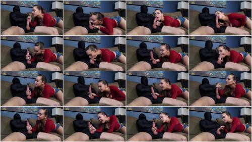 Femdom and Strapon Sasha Foxx - Sasha Teases Out Two Loads