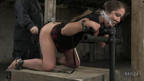 BDSM Hard bondage, torture, spanking and strappado for two hot models (Part1)