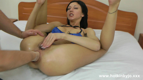 Fisting and Dildo Fisted By AlexTh0rn - Hotkinkyjo - Full HD 1080p