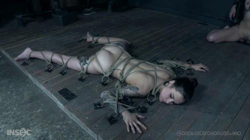 BDSM Eden Sin And Luna Lovely Wrapped & Punished Together