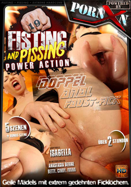 Fisting and Dildo Fisting and Pissing Power Action #19