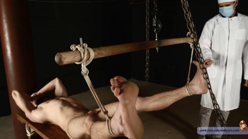 Gay BDSM RusCapturedBoys Commando Stas and the Doctor. Part I