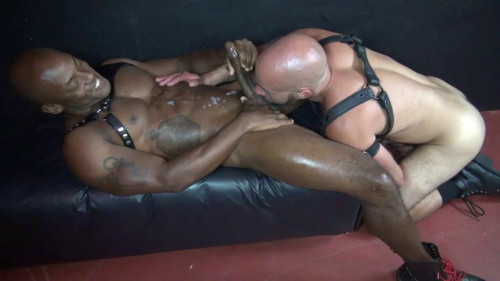 Gay BDSM Damon Andros Fucks Osiris Blade