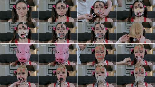 BDSM HD Bdsm Sex Videos Valentina  Pig Face