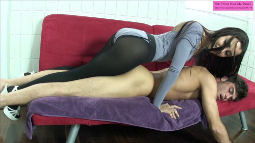 Femdom and Strapon Slut Roommate Part 2