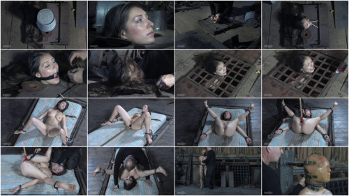 BDSM Tight bondage, torture and domination for horny brunette part 1 Full HD