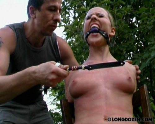 BDSM Outdoor punish