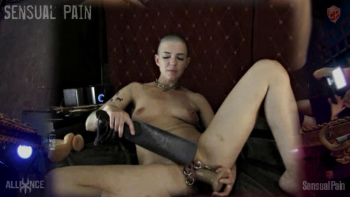 Fisting and Dildo Slave Doll
